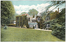 Tennyson's home on the isle of Wight