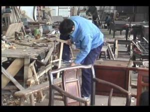 China finishing plant