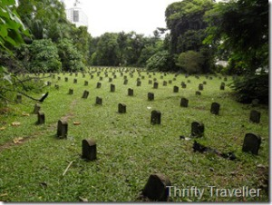 Kuala Lumpur burials WWII