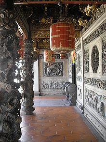Hallway in Khoo Kongsi temple