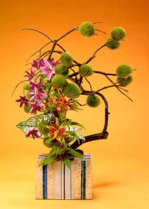 Ikebana from Penang