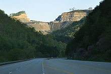 Mountaintop removal in Kentucky -